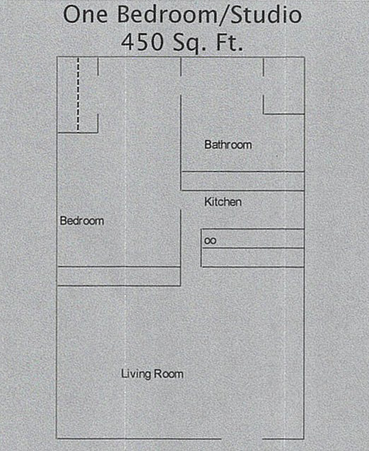 One Bedroom studio